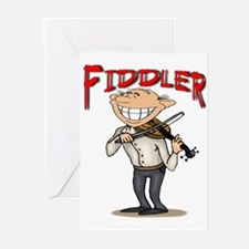 Cajun Fiddler Greeting Cards (6)