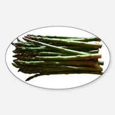 Asparagus Oval Decal