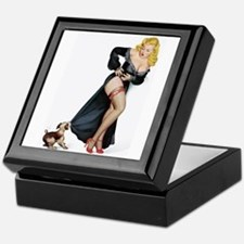 Puppy Girl Keepsake Box