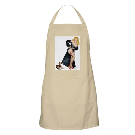 Puppy Girl BBQ Apron