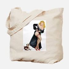 Puppy Girl Tote Bag
