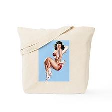 Pretty Cowgirl Tote Bag