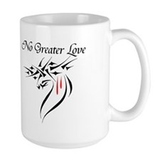 No Greater Love Mug
