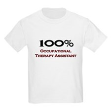 100 Percent Occupational Therapy Assistant T-Shirt