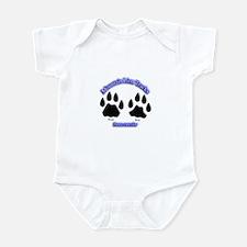 Mountain Lion Track Pair Infant Bodysuit