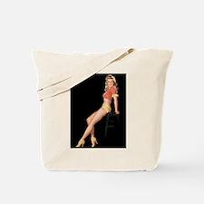 Stool Girl Tote Bag