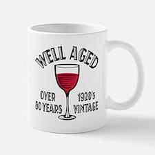 Over 80th Birthday Mug