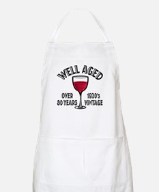 Over 80th Birthday BBQ Apron