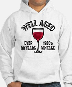 Over 80th Birthday Hoodie
