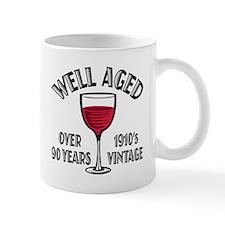 Over 90th Birthday Mug