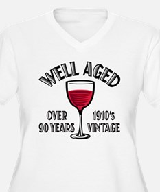 Over 90th Birthday T-Shirt