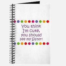 You think I'm cute, you shoul Journal
