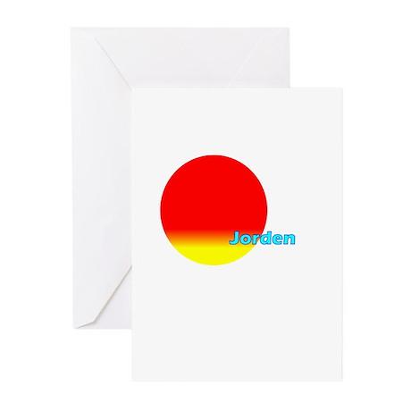 Jorden Greeting Cards (Pk of 20)