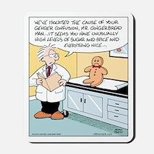 Gingerbread Doctor Diagnosis Mousepad