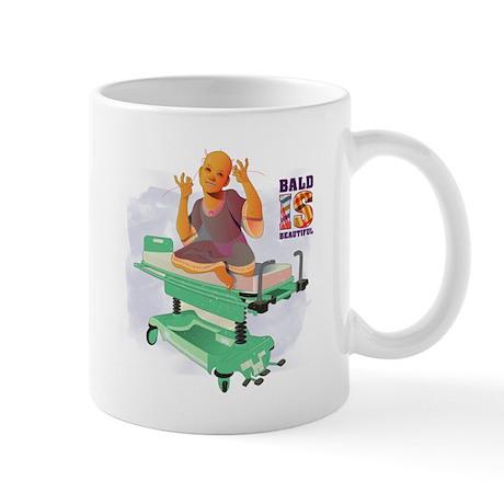 Childhood Cancer/BaldISBeautiful Mug