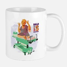 Childhood Cancer/BaldISBeautiful Mug