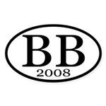 BB 2008 (Boxer bumper sticker)