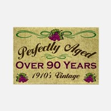 Over 90 Years Rectangle Magnet