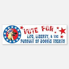 Vote for Afghan Hound Bumper Bumper Bumper Sticker