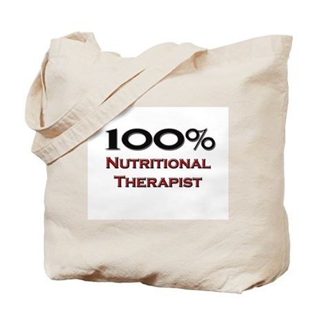 100 Percent Nutritional Therapist Tote Bag