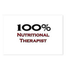 100 Percent Nutritional Therapist Postcards (Packa