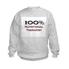 100 Percent Nutritional Therapist Sweatshirt