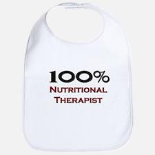 100 Percent Nutritional Therapist Bib