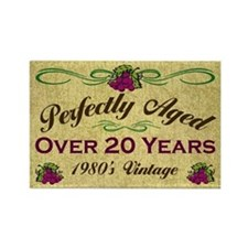 Over 20 Years Rectangle Magnet (10 pack)