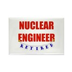 Retired Nuclear Engineer Rectangle Magnet (100 pac