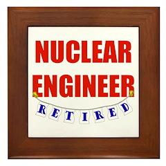 Retired Nuclear Engineer Framed Tile