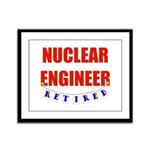 Retired Nuclear Engineer Framed Panel Print