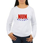 Retired Nun Women's Long Sleeve T-Shirt