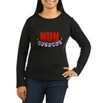 Retired Nun Women's Long Sleeve Dark T-Shirt