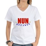 Retired Nun Women's V-Neck T-Shirt