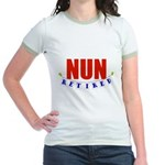 Retired Nun Jr. Ringer T-Shirt