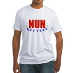 Retired Nun Fitted T-Shirt