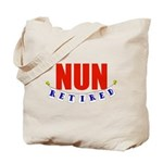 Retired Nun Tote Bag