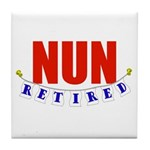 Retired Nun Tile Coaster
