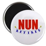 Retired Nun Magnet