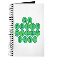 Go Green Every Day Journal