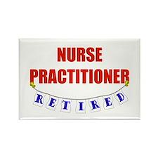 Retired Nurse Practitioner Rectangle Magnet (10 pa