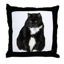 Helaine's Elvis the Cat Throw Pillow