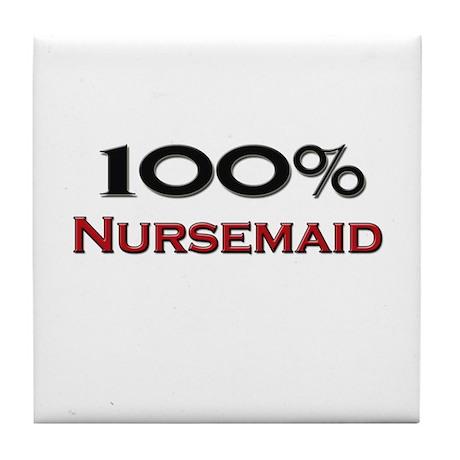 100 Percent Nursemaid Tile Coaster