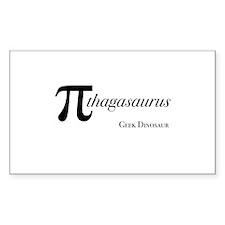 Pythagoras's Rectangle Decal