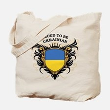 Proud to be Ukrainian Tote Bag