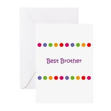 Best Brother Greeting Cards (Pk of 10)