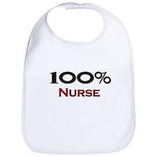100 Percent Nurse Bib