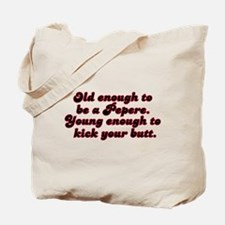 Young Enough Pepere Tote Bag