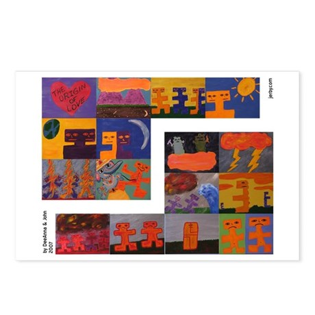 The Origin of Love Postcards (Package of 8)