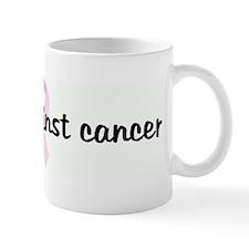 Strike against cancer pink ri Mug